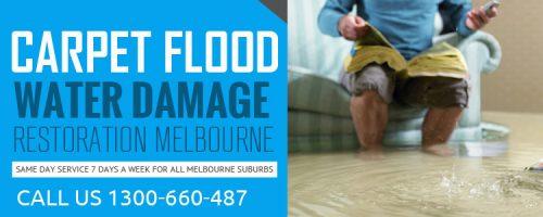 Carpet Flood Water Damage Restoration Melbourne