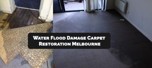 Water Flood Damage Carpet Restoration Melbourne