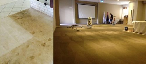 Community Hall Carpet Steam Cleaning Waterways