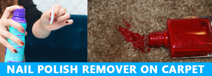 Nail Polish Remover on Carpet