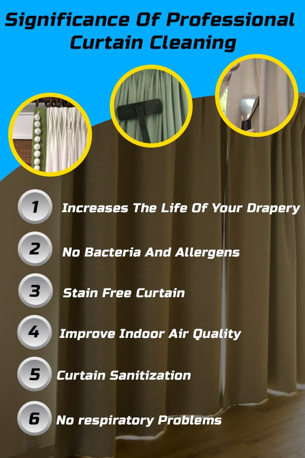 Professional Curtain Cleaning Service