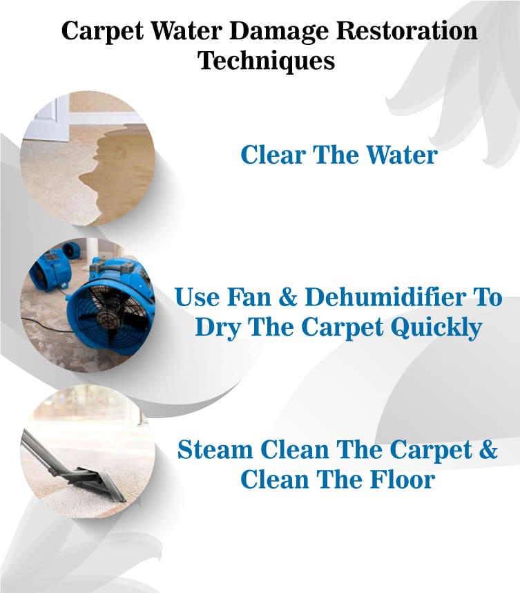 Carpet Water Damage Restoration Techniques