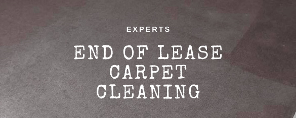 End of Lease Carpet Cleaning Cobains