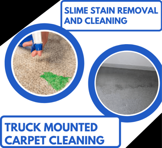 Slime Stain Removal and Truck Mounted Cleaners Blowhard